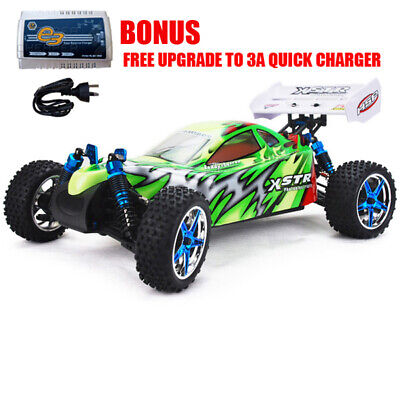 HSP 1/10 RC CAR XSTR Brushless 4WD Remote Control Off Road Buggy 2s lipo
