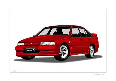 Holden Vn  Group A  'ss'   Commodore  Limited Edition