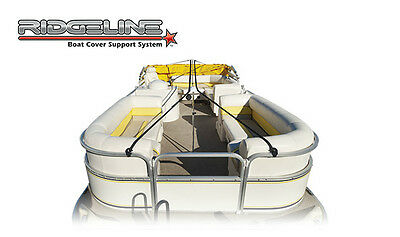 Ridgeline Pontoon Boat Cover Support System, Fits up to 28'L