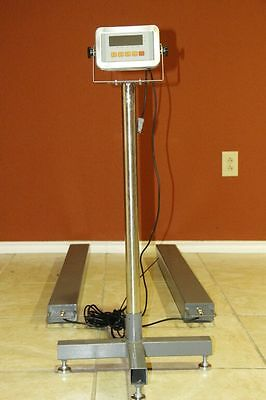 NEW Portable Load Bar Pallet Skid Scale Weighing Beams Drum Scale w/ LED Display