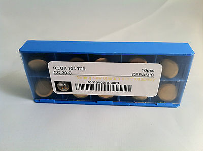 RCGX 104 T26 CC-30-C  Coated Ceramic Insert