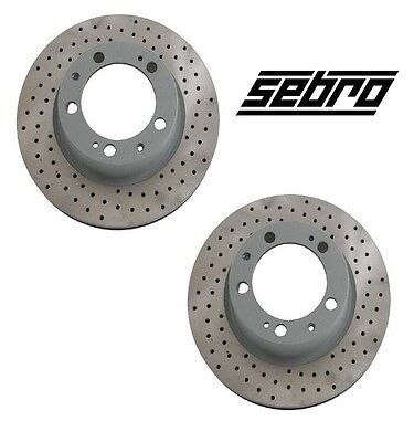 POWERSPORT *SLOTTED ONLY* DISC BM14753 2 Front + 2 Rear Brake Rotors