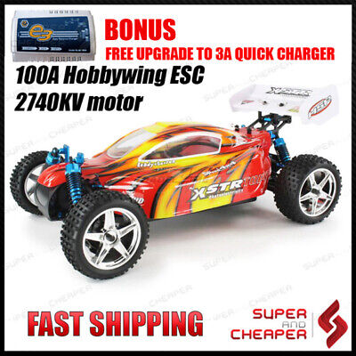 RC Car HSP Top Version 2.4Ghz 1/10 Brushless XSTR Buggy with 3S lipo and 100A ES