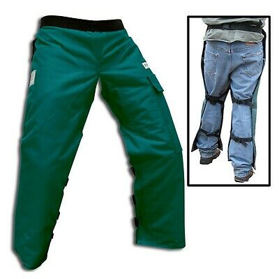 """Chainsaw Chain Protective  Chaps 36"""" Safety Gear Trousers Cut Proof"""