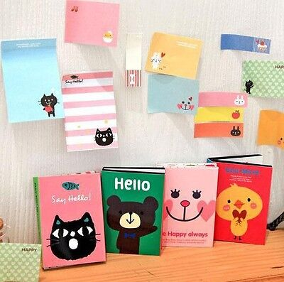Lovely Cartoon Sticker Post-It Bookmark Point It Marker Memo Flags Sticky Notes