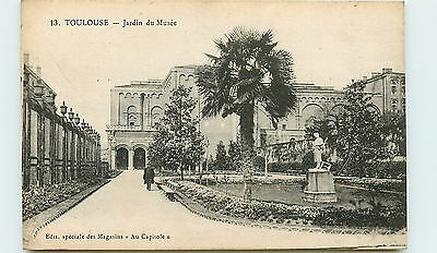 31-TOULOUSE-Jardin du musee