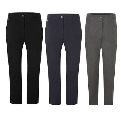 Girls Sturdy Fit School Trousers