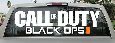 Call of Duty Black Ops 2 II Sticker Vinyl Decal You Choose Size - Brand New!