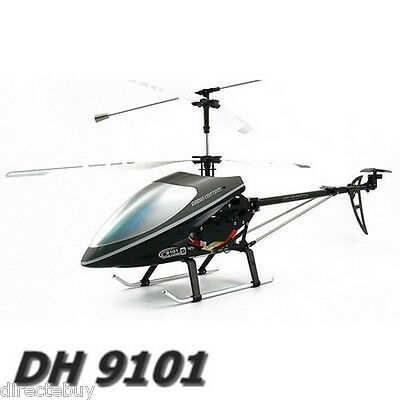 """9101 Double Horse 3 CH Large Size 29"""" Gyro Radio Control Metal RC Helicopter"""