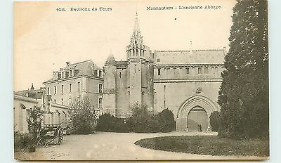 37-MARMOUTIERS-L'ancienne abbaye
