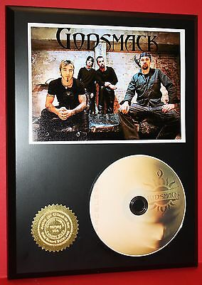 Godsmack Limited Edition Picture Cd Disc Collectible Rare Music Display