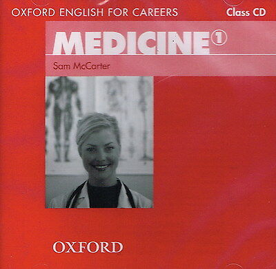 Oxford English for Careers: MEDICINE 1 Class CD | McCarter @NEW & SEALED@