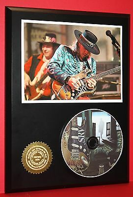 Stevie Ray Vaughan Limited Edition Picture Cd Dis Collectible Rare Music Display
