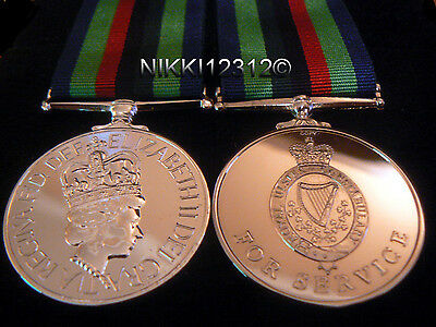Medal Full Size Royal Ulster Constabulary Medal Post 2001 (Ruc) Replacement Copy