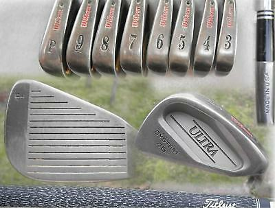 Wilson Ultra System 45 Golf Irons 3-P. DynGold S300. ALSO, Staff  Ultra 45 Sw