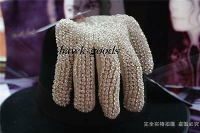 Michael Jackson Billie Jean Glove From Swiss diamond For Both hand