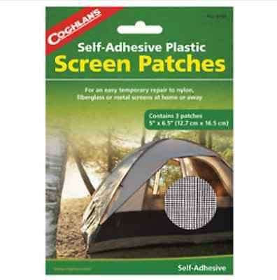"Coghlans 3 Piece, 5"" x 6-1/2"", Screen Patch 8150"