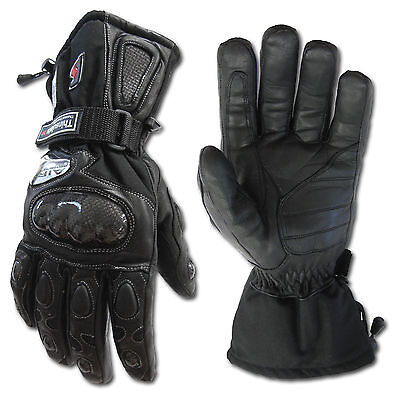Motorcycle Waterproof Windproof Winter Gloves*thermal insulation*CarbonProtector