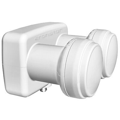 LNB Monoblock Single 0,1dB OPTICUM DIGITAL Astra Hotbird Doppel LNB Full HD HDTV