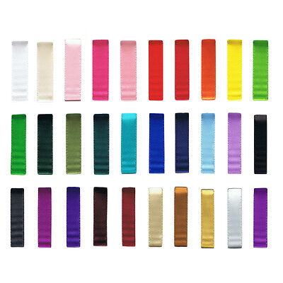 Satin Ribbon Double Sided 3mm Wide Colourful High Quality - Sold Per Metre