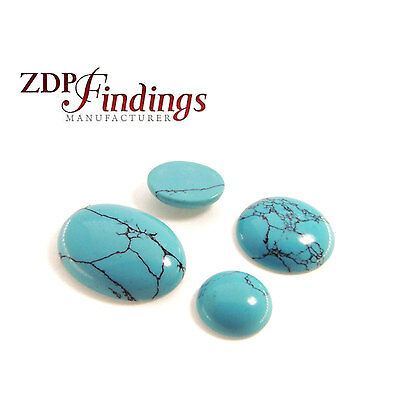 Turquoise Stripes AAA Stones Cabochon Loose Gemstones