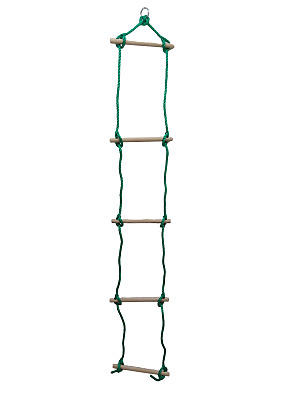 5 Rung Rope Ladder CLOSEOUT playground cubby treehouse WXP25