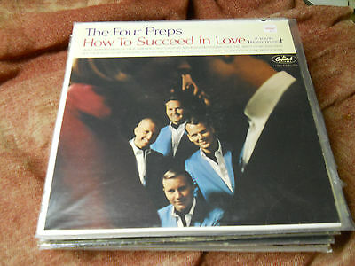 The Four Preps - How To Succeed in Love  lp