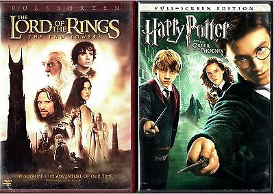 The Lord of the Rings:The Two Towers & Harry Potter and the Order of the Phoenix