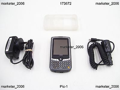 Symbol Motorola Mc35 Mc3574 Wm5 Gps Camera Barcode Scanner Mobile Phone Pda