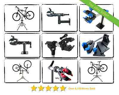 Home Mechanic Bike Cycle Repair Stand Wall Floor Or Bench Mounted