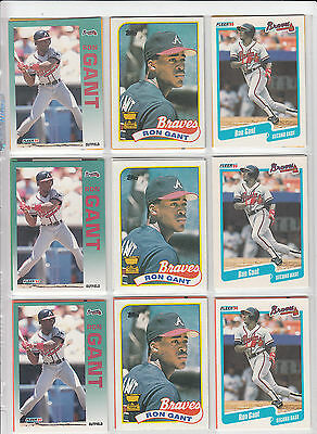Lot of 54 Ron Grant Baseball Cards NM Lots of different.....  *0462