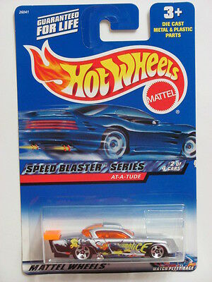 HOT WHEELS 2000 SPEED BLASTER SERIES  AT- A - TUDE #038