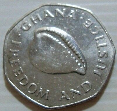 Ghana - 1996 200 Cedis - KM35 - Shell - AU/UNC Condition - Bad Pics
