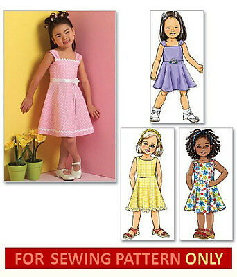 SEWING PATTERN! MAKE Girls Dress~Sundress! Summer Clothes~Outfit ...