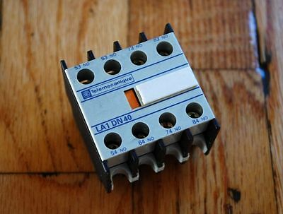 Telemecanique LA1DN40 Auxiliary Contact Block - USED