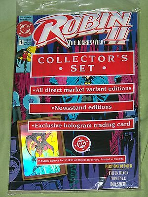 ROBIN II: THE JOKER'S WILD 1991 / COMPLETE BAGGED SET OF ALL # 1 ISSUES F-VF