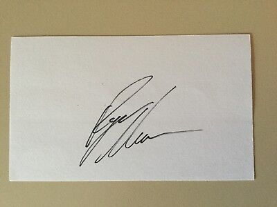 Ryan Newman signed NASCAR Driver Index Card JSA