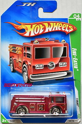 Hot Wheels 2009 Treasure Hunt Fire-Eater #04/12 Reg