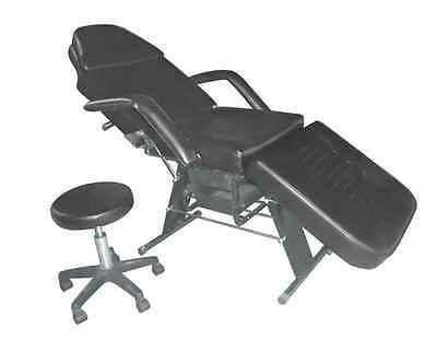 Portable Dental Chair + Stool Package (Black)