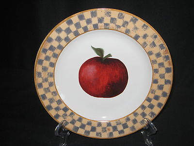 Block Country Orchard Salad Lunch Plate - Apple - New