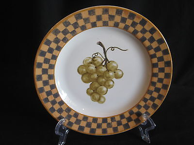 Block Country Orchard Salad Lunch Plate - Grapes - New