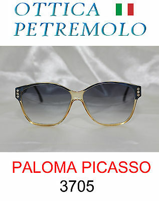 PALOMA PICASSO 3705 Donna Occhiale da Sole Vintage Anni '80 Made in Germania