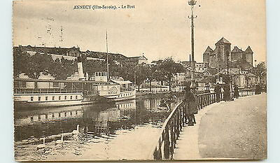 74-ANNECY-Le port
