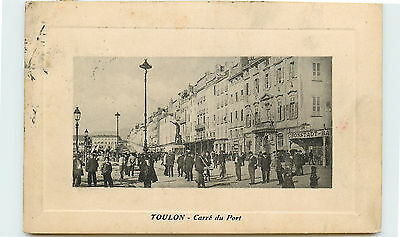83-TOULON-Carre du port