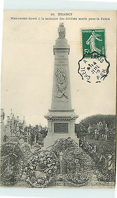 93-DRANCY-Monument aux morts