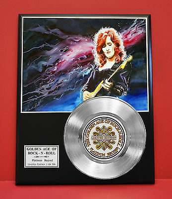 Bonnie Raitt Platinum Record Limited Edition Rare  Collectible Music Display