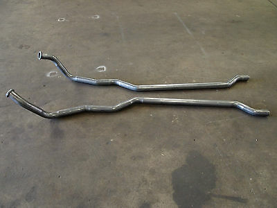 Ford Cleveland 302 351 V8 Clevo Dual System Long Engine Pipes 2V New 2""