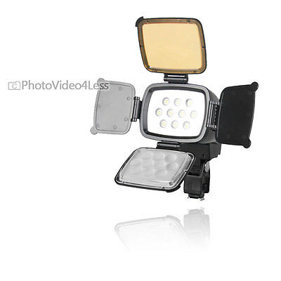 New Bower Digital Professional LED Video Light For Canon Mark II Mark III Camera
