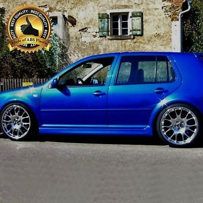 -= New Vw Golf Mk4 4 Side Skirts R32 5Door =--= Abs Plastic ! ! ! =-