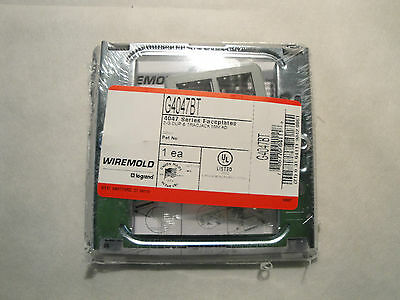 NEW FACTORY SEALED WIREMOLD LEGRAND G4047BT 2-G DUP & TRACJACK MINI AD